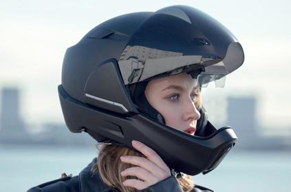 Le casque de moto
